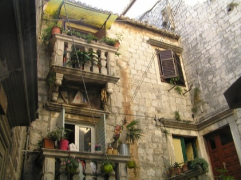 Old house in Trogir